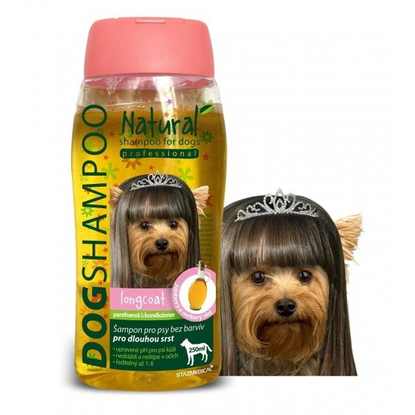 DOG SHAMPOO longcoat small breed 250 ml