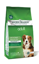 Arden Grange Adult: rich in fresh lamb & rice