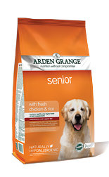 Arden Grange Senior: with fresh chicken & rice