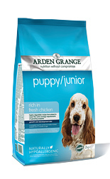 Arden Grange Puppy/Junior: rich in fresh chicken