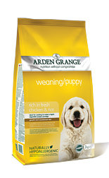Arden Grange Weaning/Puppy: rich in fresh chicken & rice