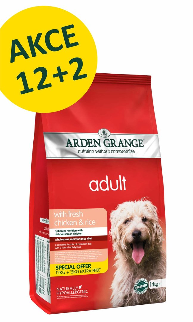 Arden Grange Adult: with fresh chicken & rice 7