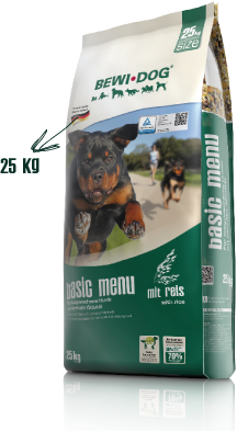 BEWI DOG basic menu