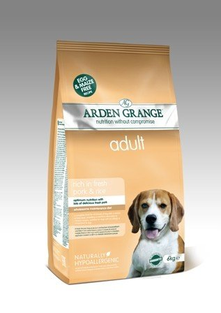 Arden Grange Adult: rich in fresh pork & rice