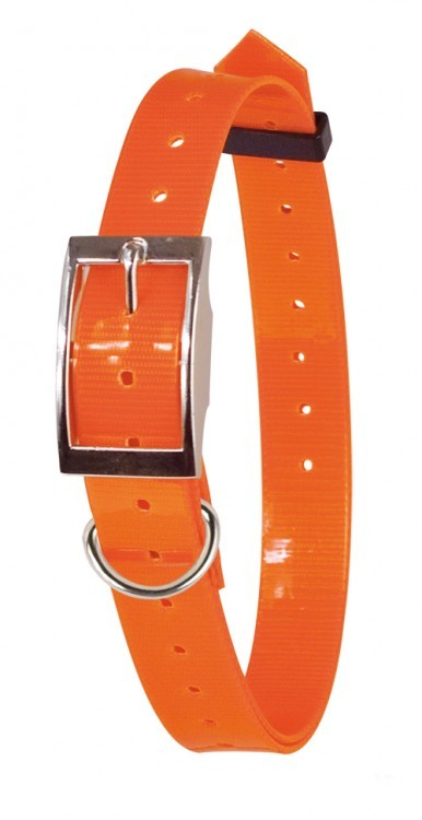 Obojek Fluorescent Collar - Orange 23-85 cm x 25mm