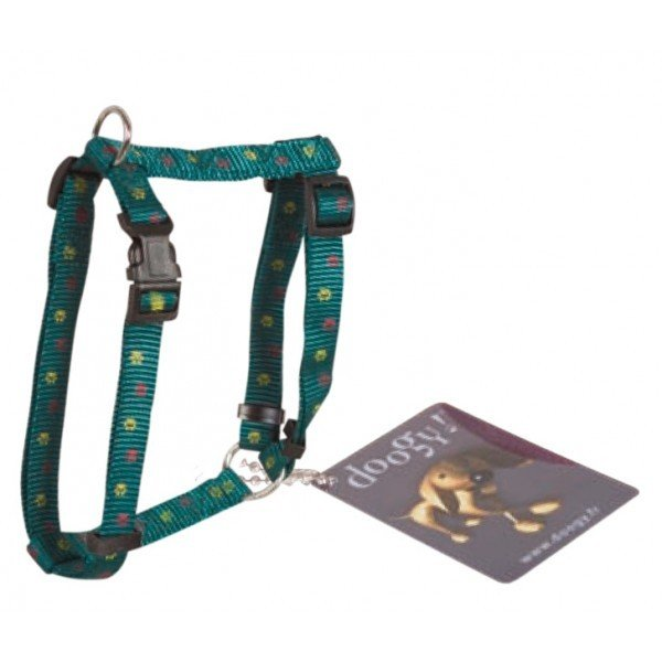 Postroj Paws Nylon - Green 30-50 cm x 10 mm