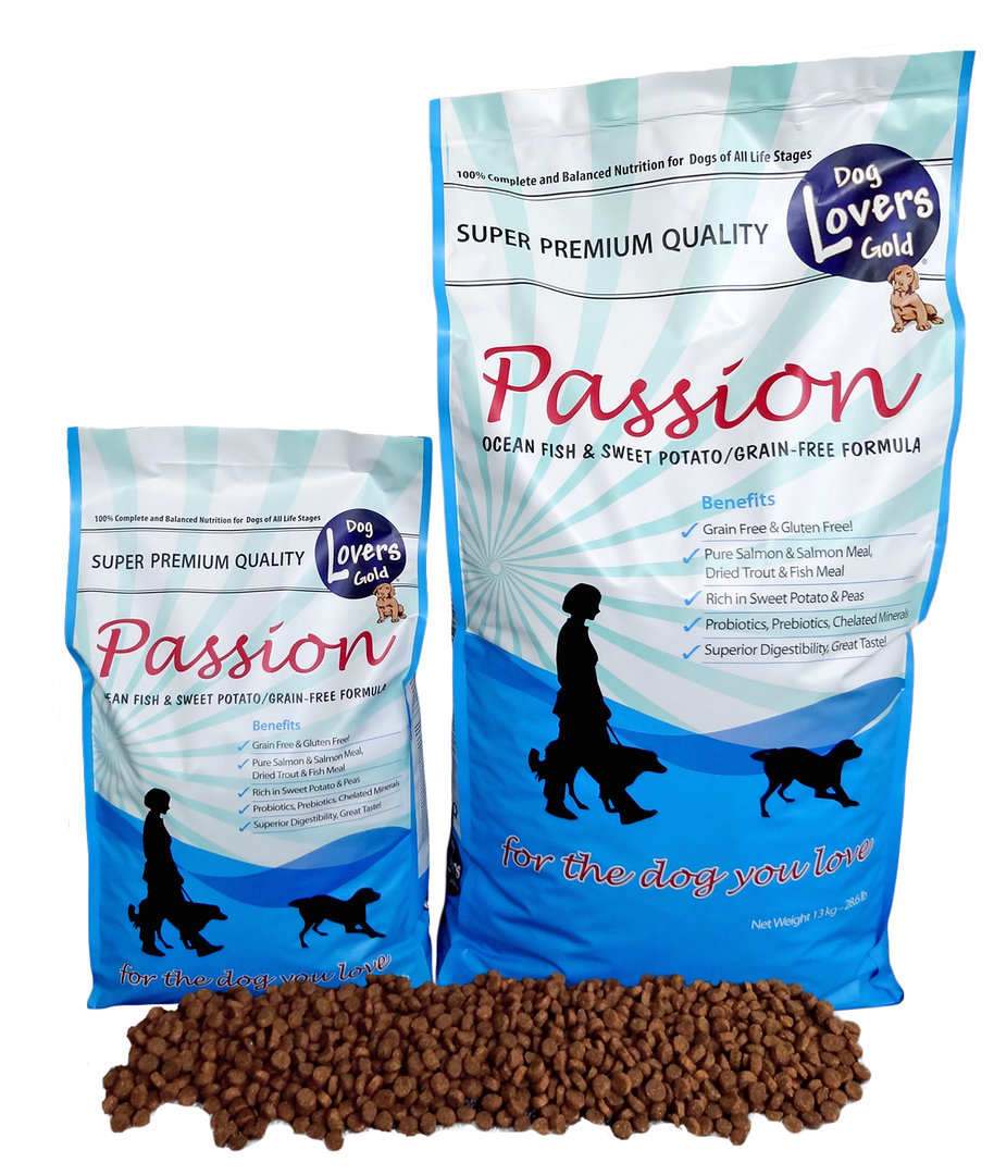 Dog Lovers Gold 'PASSION' - Ocean Fish & Sweet Potato