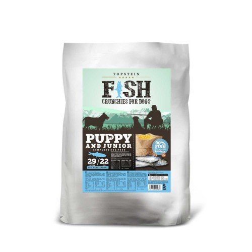 Fish Crunchies for dogs Puppy and Junior