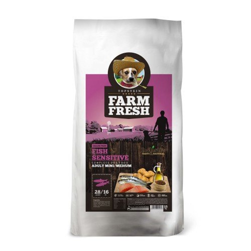 Farm Fresh Fish Sensitive Mini/Medium Grain Free 3