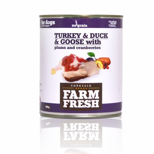 Farm Fresh Turkey & Duck & Goose with Plums