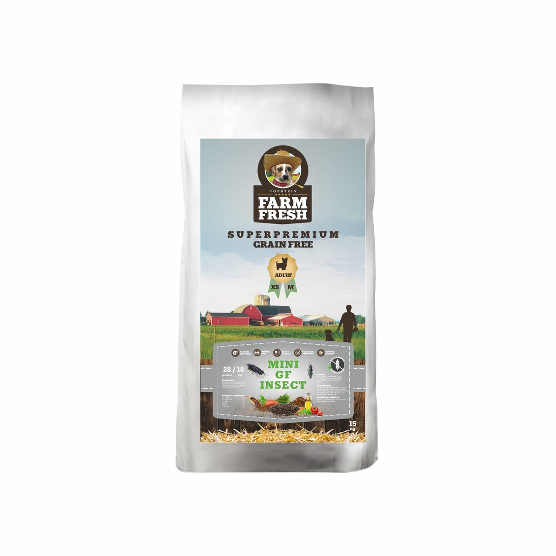 Farm Fresh Mini Insect Grain Free