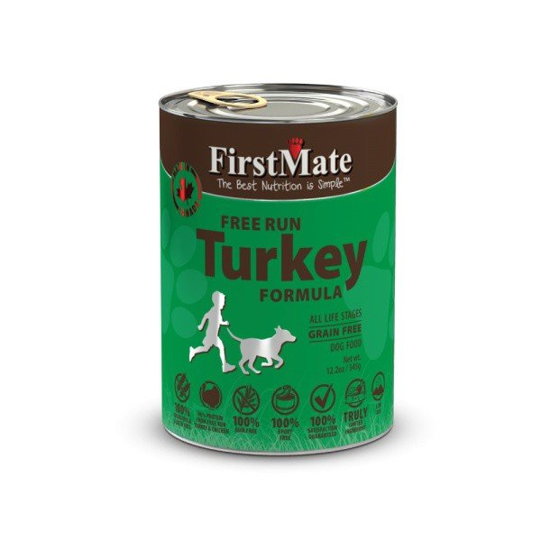 FirstMate Can Turkey Dog Food