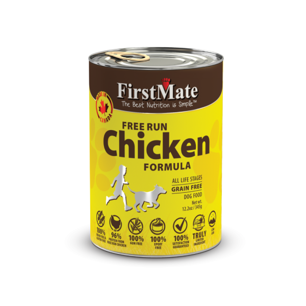 FirstMate Can Chicken Dog Food