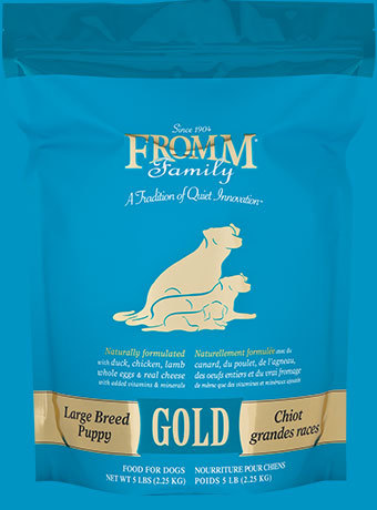 Fromm Family Large Breed Puppy Gold 1
