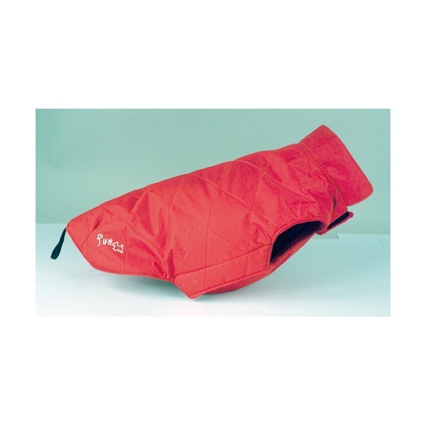 Obleček Fun Star Down Jacket - Red