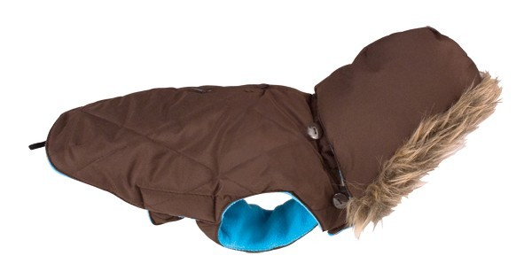 Obleček Inuit Down Jacket with Hood - Brown