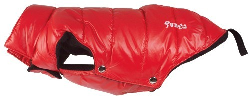 Obleček Fun Fashion Down Jacket - Red