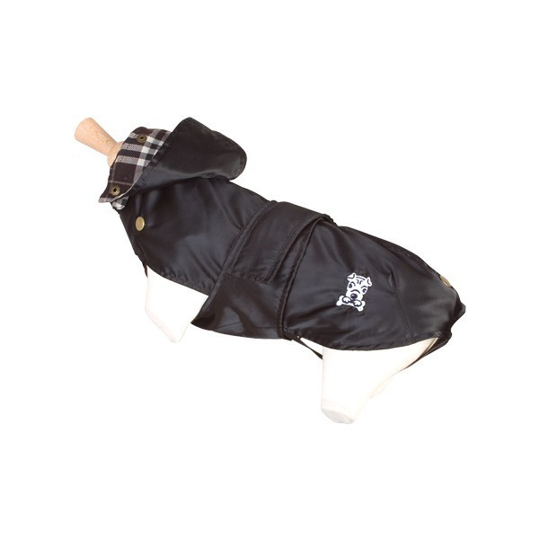doogy! Obleček ''Tonga'' Raincoat - Black S 60
