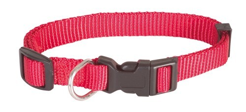 Obojek Basic Nylon - Red