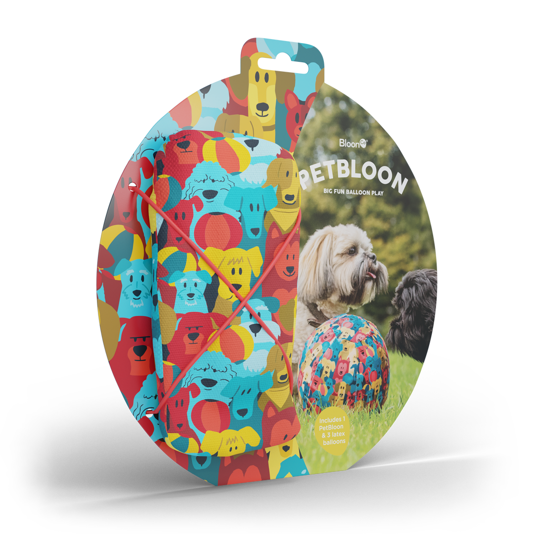 Pet Balloon Colourful for Dogs 1