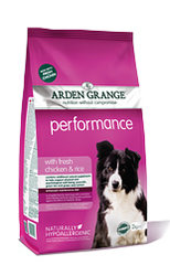 Arden Grange Performance: with fresh chicken & rice