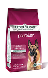 Arden Grange Premium: rich in fresh chicken & rice