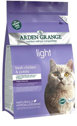 Arden Grange Adult Cat: light fresh chicken & potato - grain free recipe 1