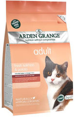 Arden Grange Adult Cat: fresh salmon & potato - grain free recipe 1