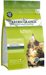 Arden Grange Kitten: fresh chicken & potato - grain free recipe 1
