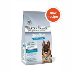 Arden Grange Sensitive Puppy/Junior - Ocean White Fish and Potato