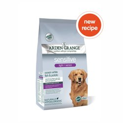 Arden Grange Sensitive Light/Senior - Ocean White Fish and Potato