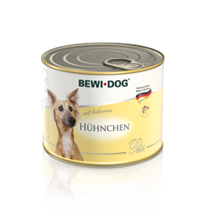 BEWI DOG Pâté rich in delicate chicken