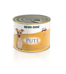 BEWI DOG Pâté rich in fine turkey