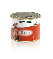 BEWI DOG Pâté rich in juicy beef 1