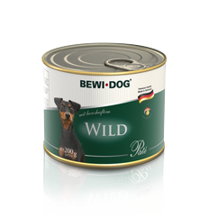 BEWI DOG Pâté rich in savoury venison