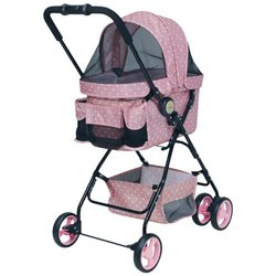 Kočárek Stroller Dog City Pink (do 8kg)