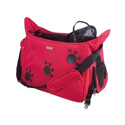 Taška 'Paws' Bag - Red 42 x 21 x 25 cm