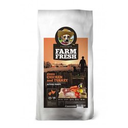 Farm Fresh Chicken and Turkey Active/Puppy Grain Free