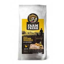 Farm Fresh Chicken Sensitive Grain Free 25 kg (10 kg + 15 kg) 10