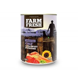 Farm Fresh Calf with Sweet Potatoes 6 x 400 g 6