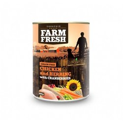 Farm Fresh Chicken and Herring with Cranberries 800 g 4