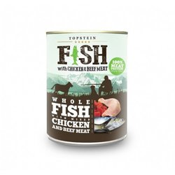 Topstein Fish with Chicken and Beef Meat 800 g 2