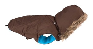 Obleček Inuit Down Jacket with Hood - Brown 1
