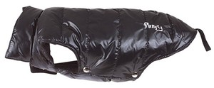 Obleček Fun Fashion Down Jacket Zip Opening - Black S 40
