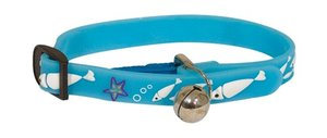 Obojek pro kočky 2D Adjustable Cat Collar - Blue 18-30 cm x 11 mm