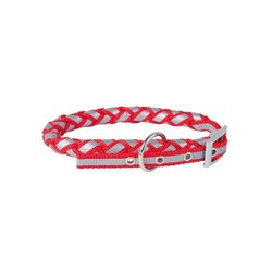 Obojek Doogy Reflecting Nylon - Red
