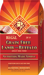 Regal Grain Free Lamb with Buffalo 1