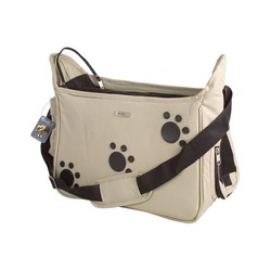 Taška ''Paws'' Soft Bag - Beige 42 x 21 x 25 cm